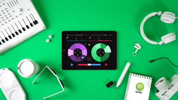 The Pacemaker DJ app for Spotify and iPad