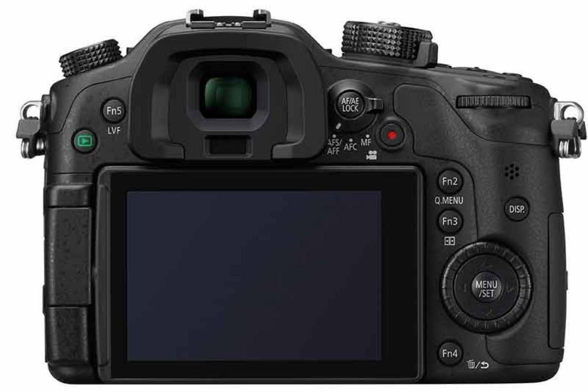 Panasonic Lumix GH4 camera, back view