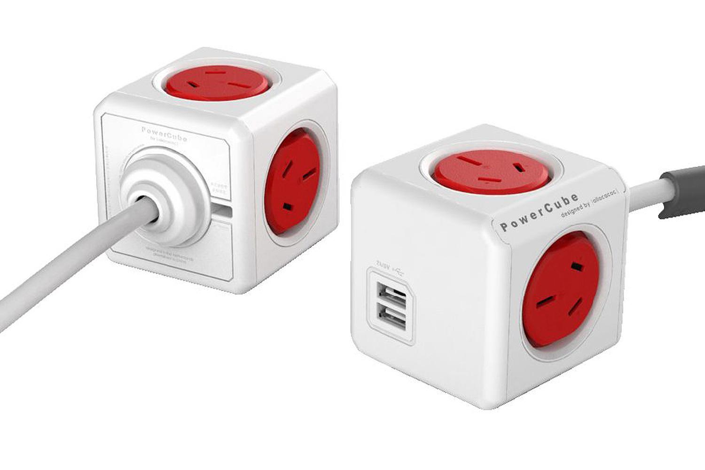 Allocacoc PowerCube red