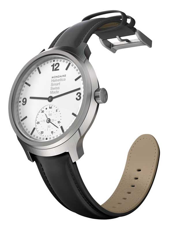 Click to view a larger image of the Mondaine Helvetica No 1 smartwatch