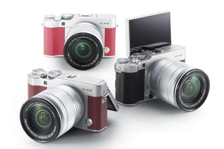 Fujifilm X-A3 camera: selfie-ready