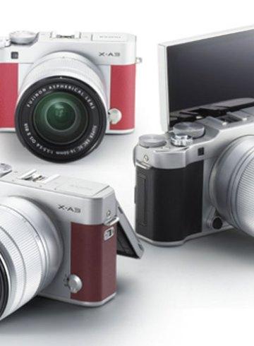 Fujifilm X-A3 camera colour range