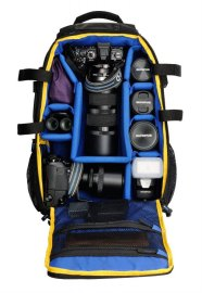 Olympus CBG-12 Camera Bag, inside compartments