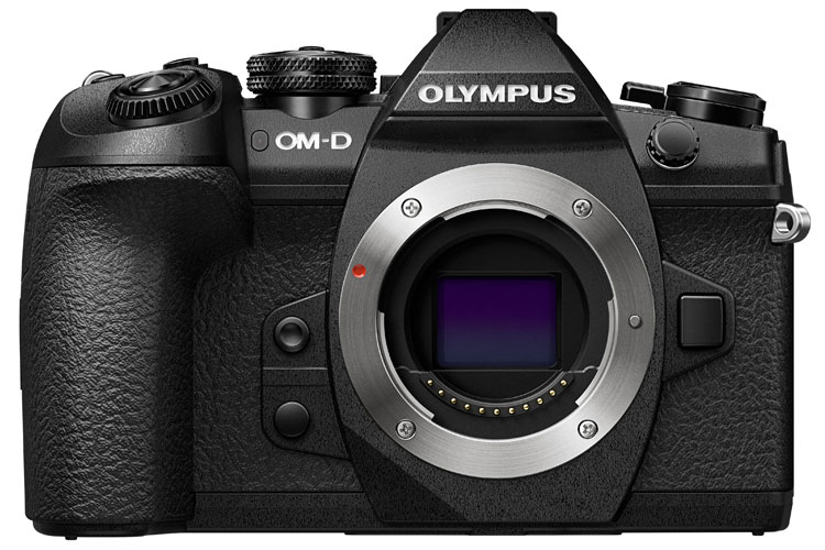 Olympus OM-D E-M1 Mark II body only, front view