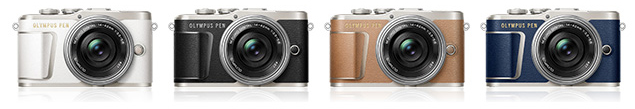 Olympus PEN E-PL9 colour range