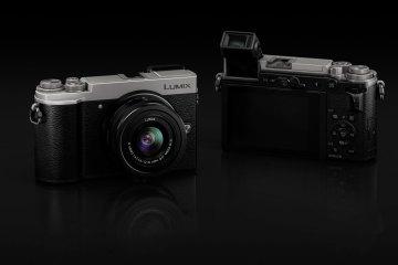 Panasonic Lumix GX9 front and back view