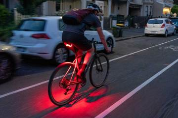 Project Flock bicycle light