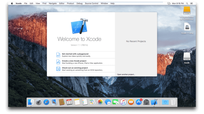 Xcode Installed