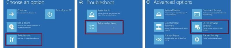 Troubleshoot Advanced Uefi Firmware