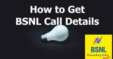 Get BSNL Call Details