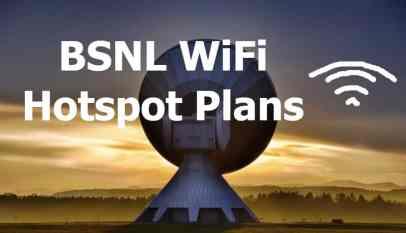 BSNL Wifi plans