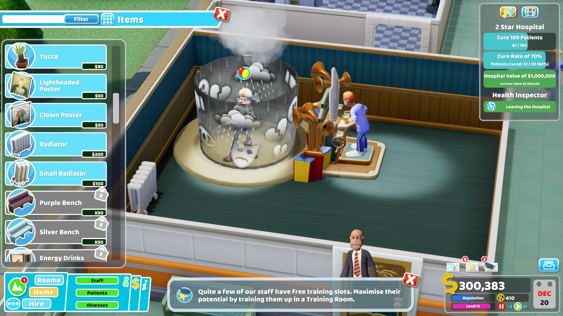 Two Point Hospital Review | Trusted Reviews | TechSwitch