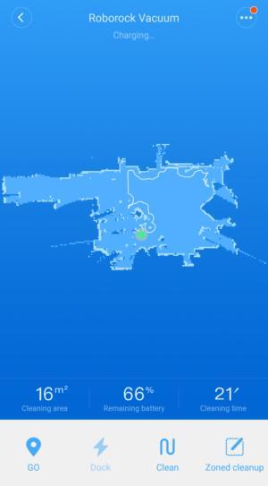 mi home map