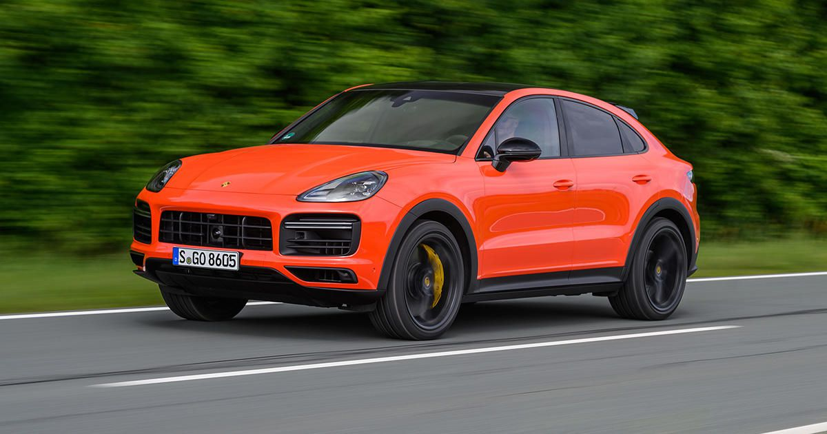 2020 Porsche Cayenne Coupe First Drive Splitting Hairs