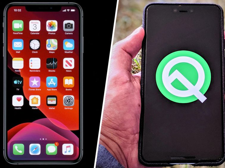 iOS 13 vs  Android 10: iPhone beats Android in some