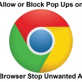 How to Allow or Block Pop Ups on Google Chrome Browser