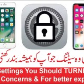 iPhone settings you should turning off