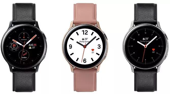 Samsung Galaxy Watch Active 2 brings back digital bezel