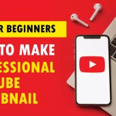 How to make Professional YouTube thumbnail without any software