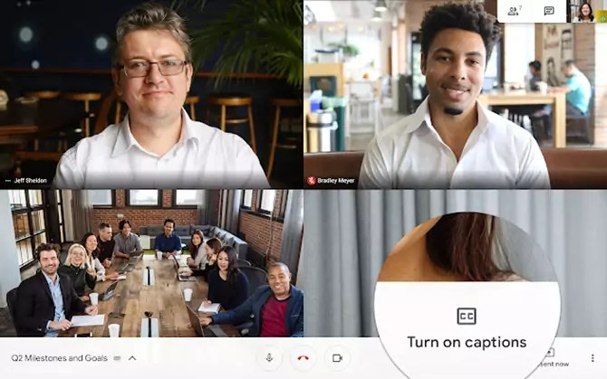 Google adds Live Captions to Hangouts Meet, but only on Android