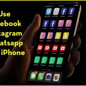 How to use multiple Facebook, Instagram, WhatsApp on iPhone