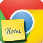 chrome notepad