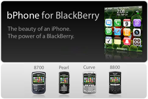 iphone theme for blackberry