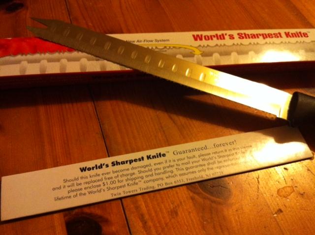 The Worlds Sharpest Knife  TechTelGirl