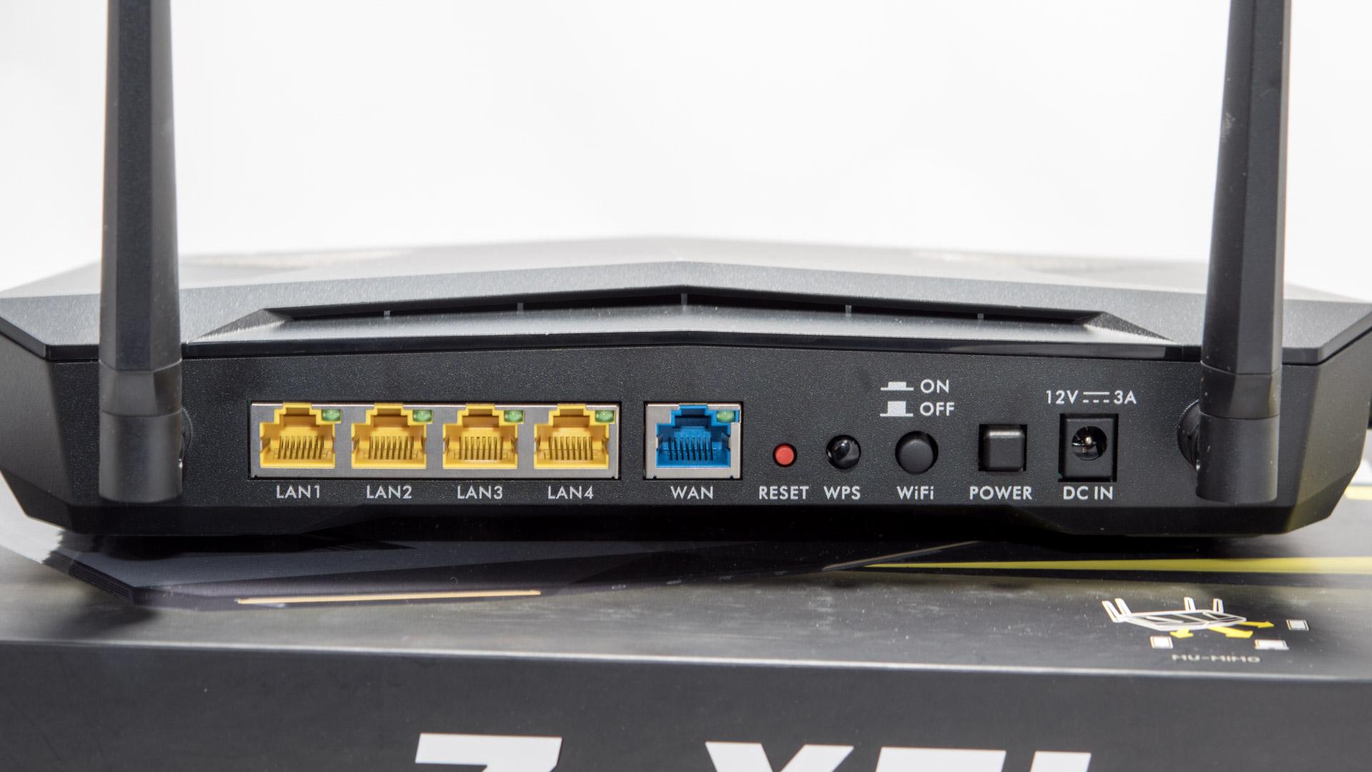 ZyXELs High End WLAN Router im Test, der Armor Z2  Techtest