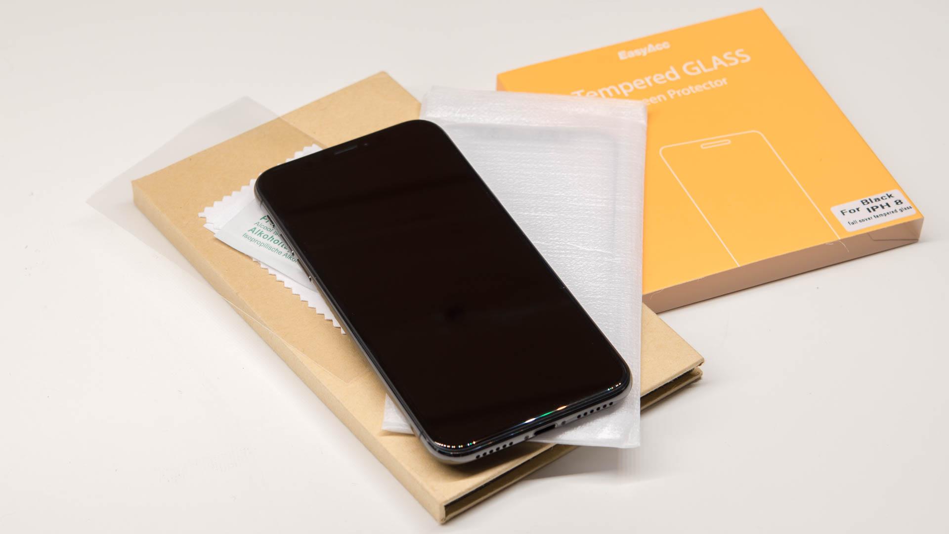 8x Glas Displayschutzfolien Panzerglasfolien Fur Das Iphone X Im Test Welcher Ist Der Beste