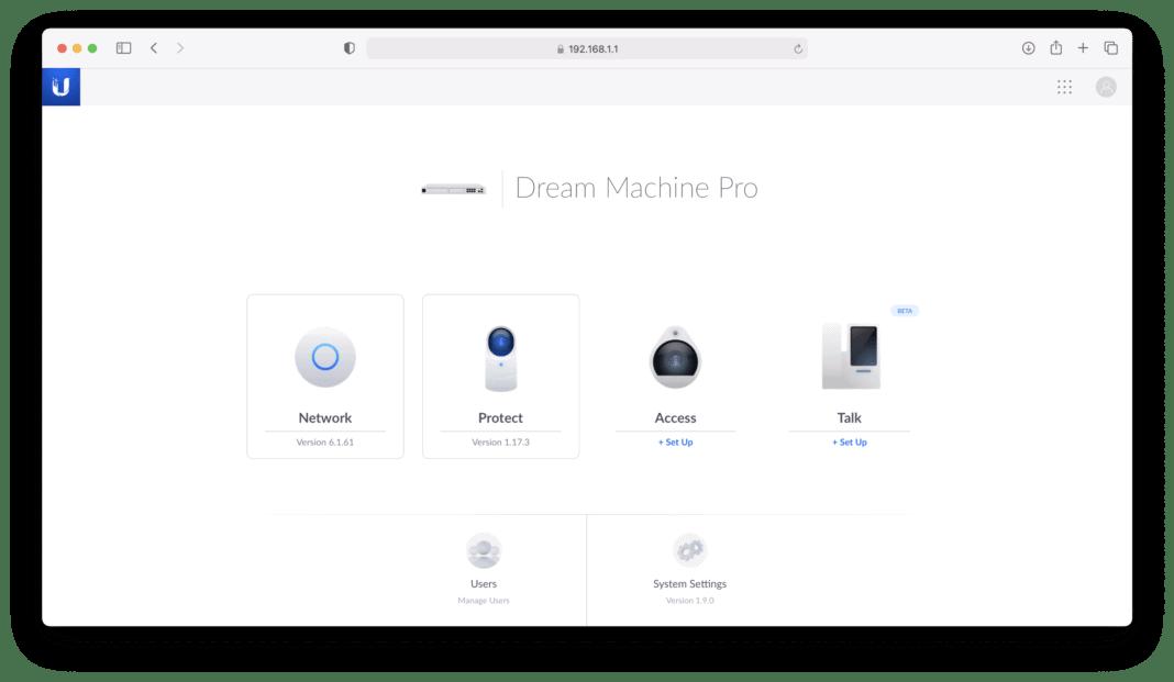 Die Ubiquiti UniFi Dream Machine Pro im Test, der Traum