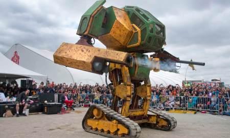 megabots mkII robot