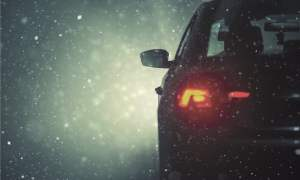 self driving car snow