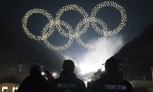 intel drone light show 2018 olympics