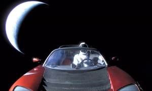 space tesla roadster secret cargo elon musk the arch mission