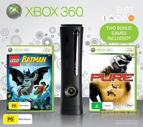 Xbox 360 Elite Holiday Bundle Comes With Two Games At Same