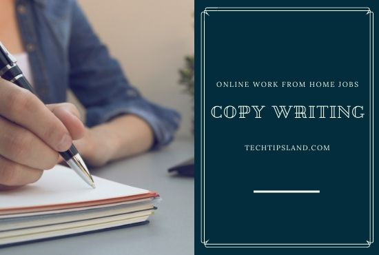 copywriting online work from home jobs