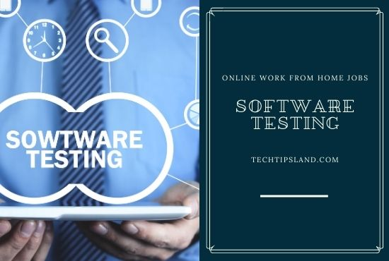 software testing online work from home jobs