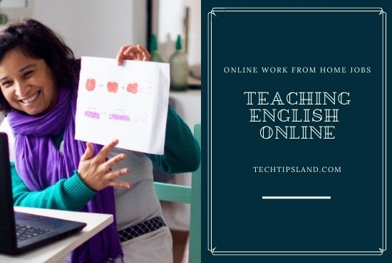 teaching english online work from home jobs