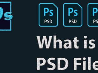 What is a PSD file?  How to open a PSD file