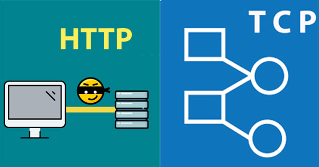 Difference between HTTP and TCP