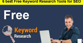 6 best Free Keyword Research Tools for SEO