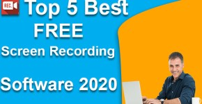 Top 5 Best FREE Screen Recording Software 2020