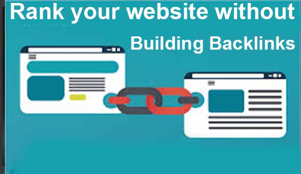 Can You Rank web Content Without Building Backlinks? tech to Amjad