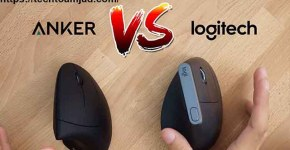 wich best Mouse Logitech MX Vertical vs Anker Vertical complete different