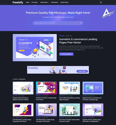 Professional Software Downloading blogger templates