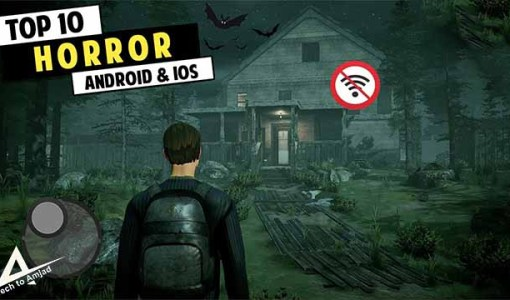 Top 10 Horror Mobile Games 2021   New Horror Phone Games [Android & iOS] best horror games for android