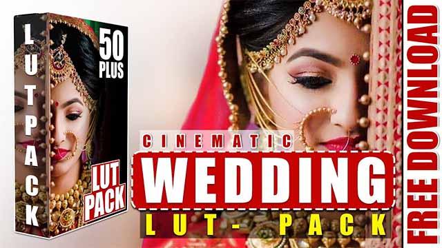 Wedding Lut Pack Free Download for Edius | Wedding Cinematic Lut Pack 50Puls Free Download