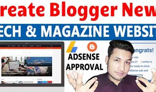 Smag Premium Blogger Template