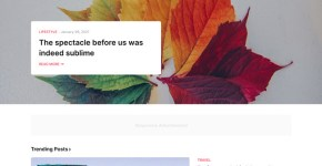 Colorify - Creative Blogger Template Free Download